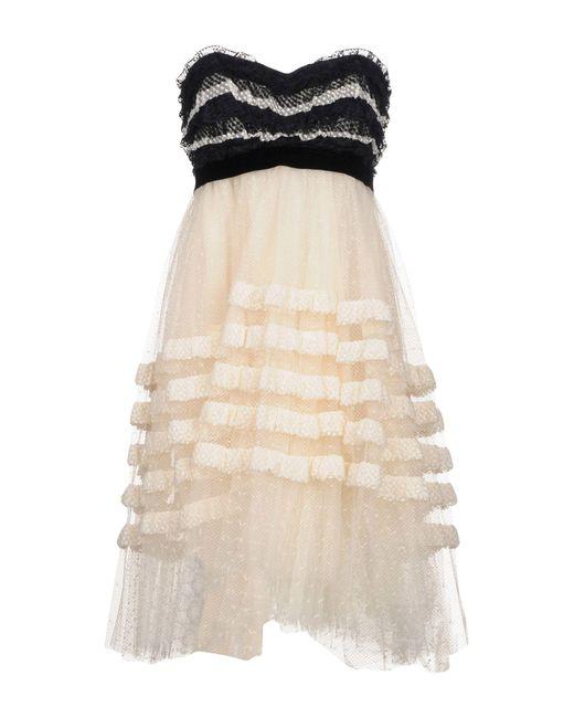 Philosophy Di Lorenzo Serafini - Natural Short Dress - Lyst