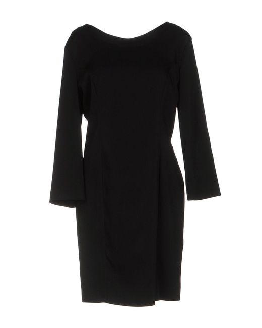 Flavio Castellani   Black Short Dress   Lyst