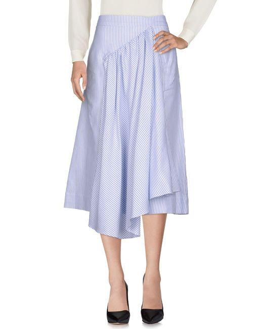 Simone Rocha - Blue 3/4 Length Skirt - Lyst