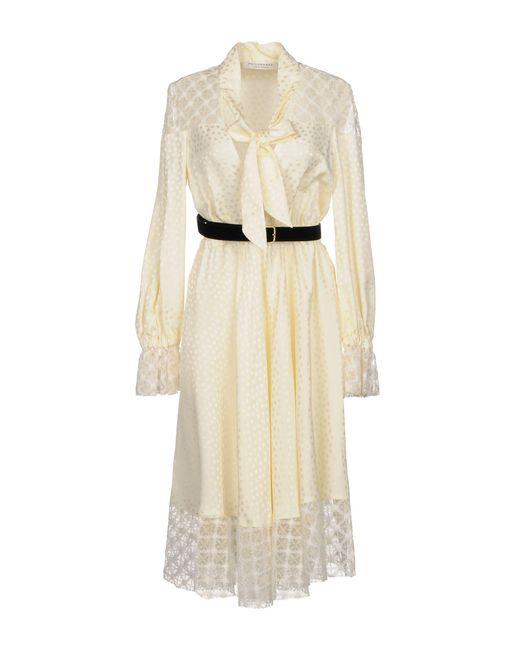 Philosophy Di Lorenzo Serafini - White Knee-length Dress - Lyst