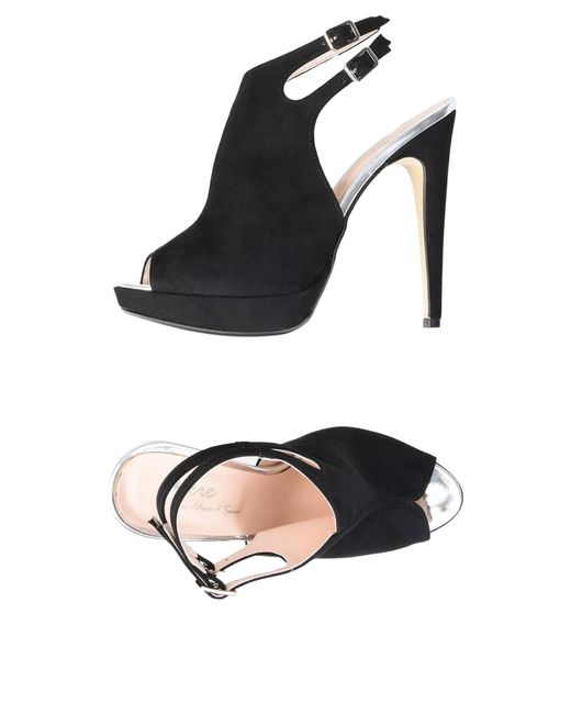 Jolie By Edward Spiers - Black Sandals - Lyst