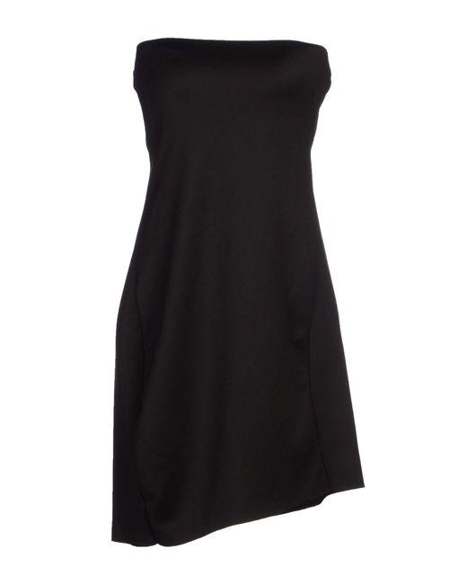 Osklen | Black Short Dress | Lyst