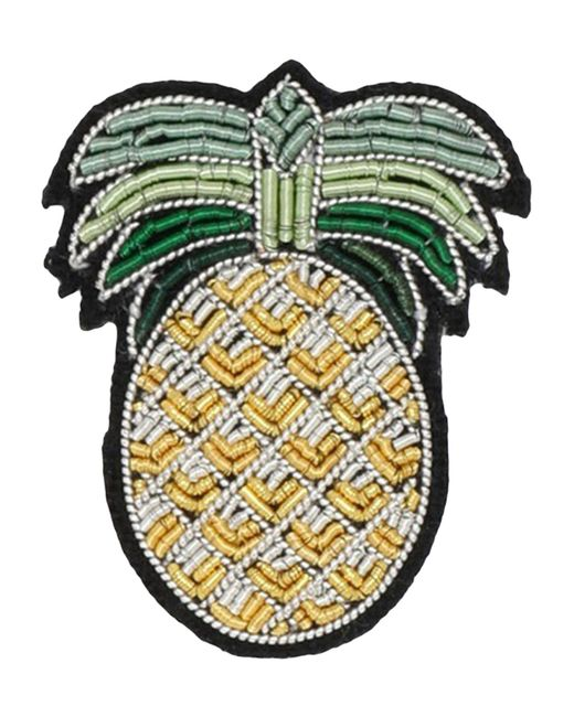 Macon & Lesquoy | Yellow Brooch | Lyst