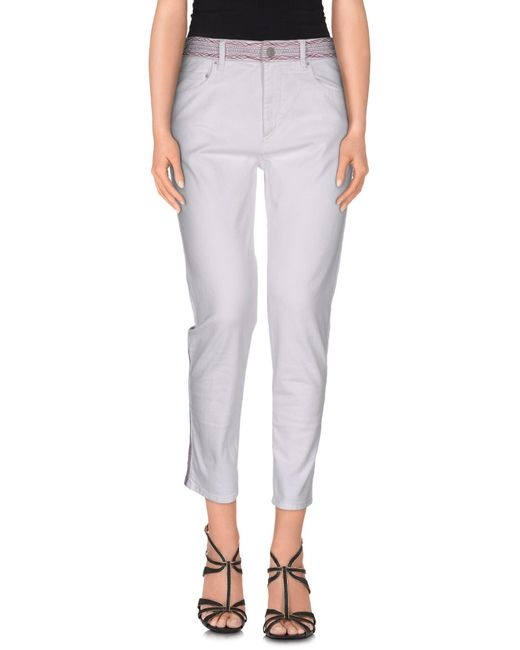 Étoile Isabel Marant | White Denim Pants | Lyst