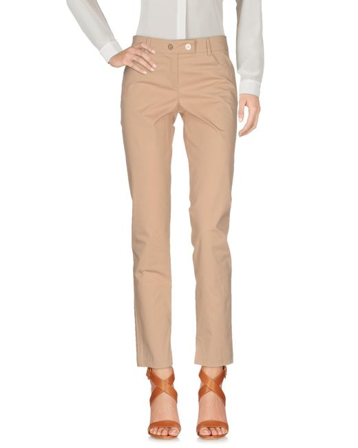 Patrizia Pepe | Natural Casual Trouser | Lyst