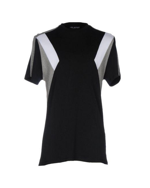 Neil Barrett - Black T-shirt for Men - Lyst