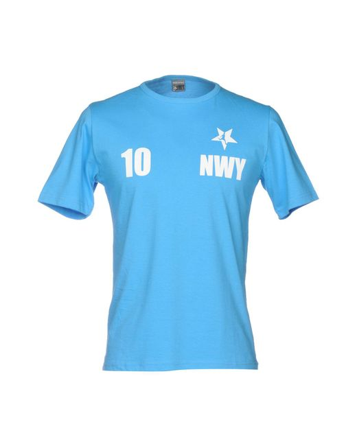 NWY Never Without You - Blue T-shirt for Men - Lyst