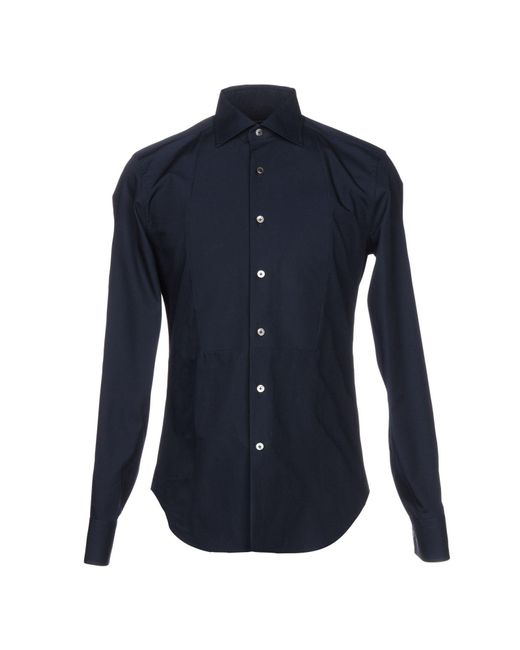 Ermanno Scervino - Blue Shirt for Men - Lyst