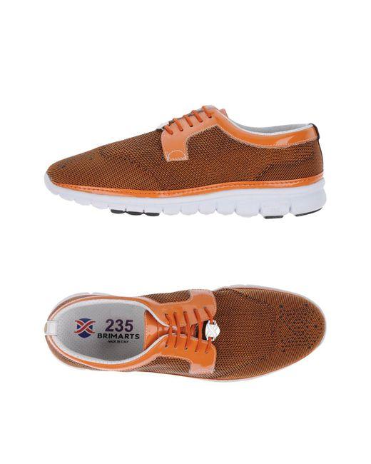 Brimarts - Orange Low-tops & Sneakers for Men - Lyst