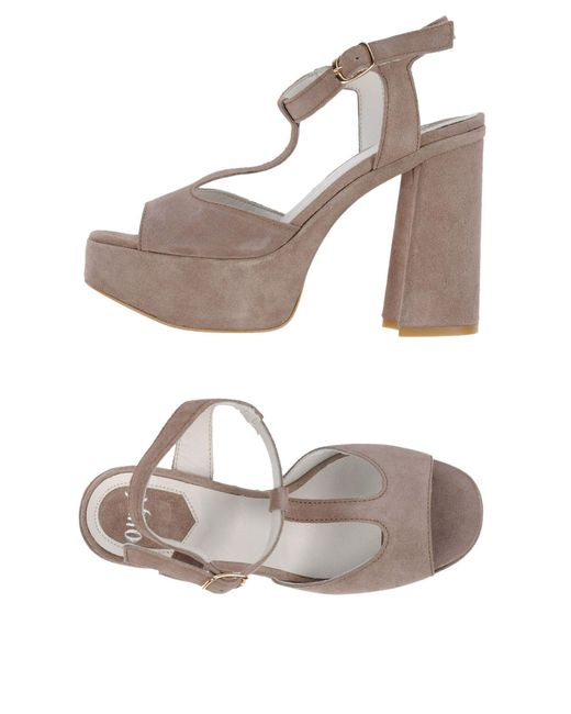 Ovye' By Cristina Lucchi | Natural Sandals | Lyst