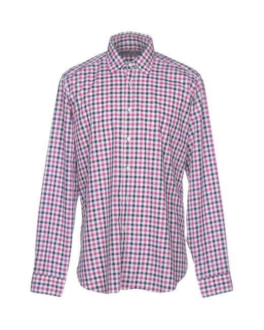 Etro - Red Shirts for Men - Lyst