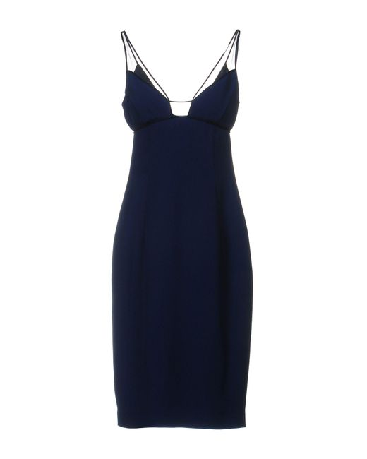 Gai Mattiolo - Blue Knee-length Dresses - Lyst