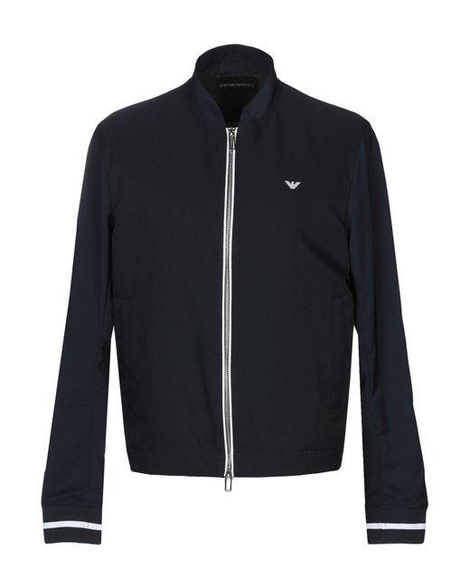 Emporio Armani - Blue Jacket for Men - Lyst