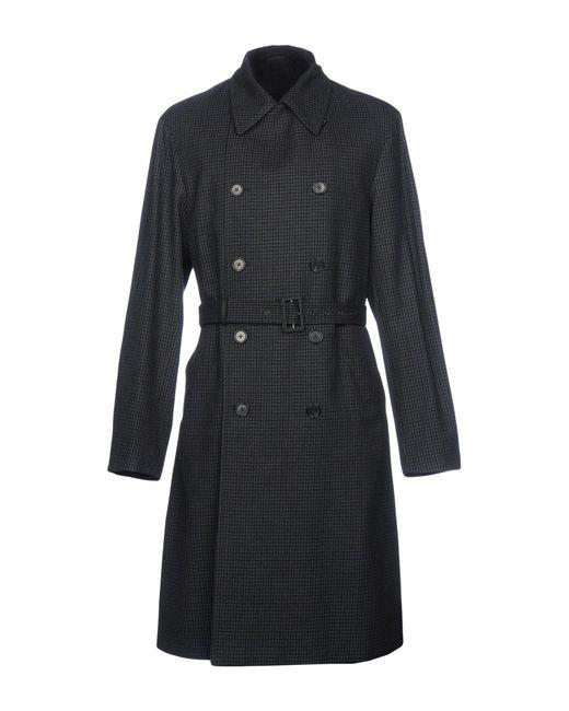Jil Sander - Blue Coat for Men - Lyst