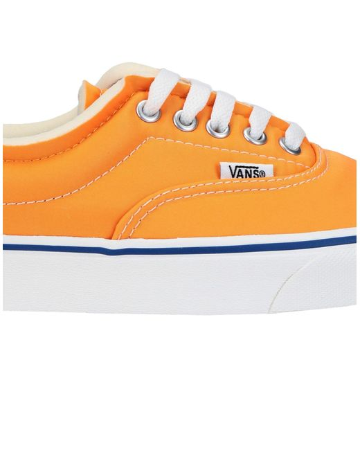 112fbeb30c3722 ... Lyst Vans - Orange Low-tops   Sneakers for Men ...