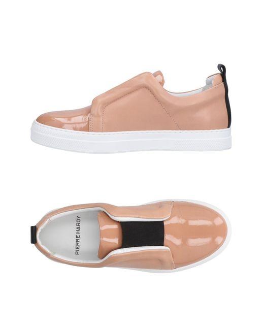 Pierre Hardy - Pink Low-tops & Sneakers - Lyst
