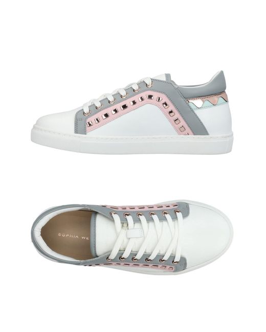 Sophia Webster - White Low-tops & Sneakers - Lyst