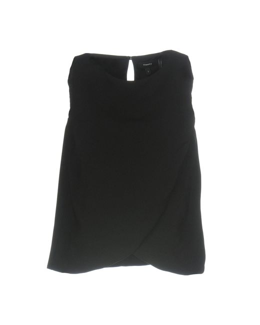 Theory | Black Top | Lyst