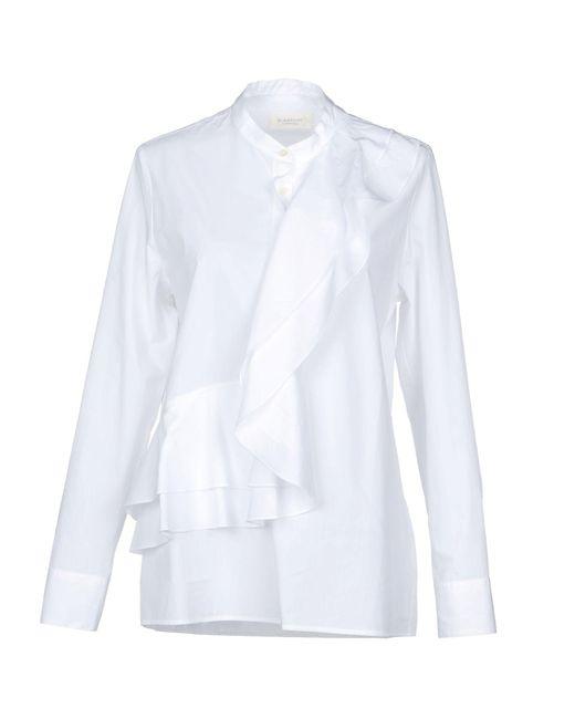Glanshirt - White Shirt - Lyst