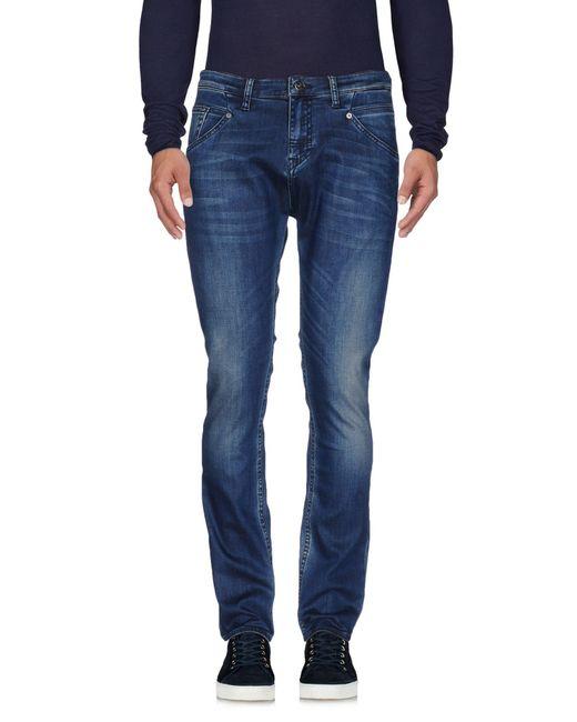 Meltin' Pot - Blue Denim Trousers for Men - Lyst