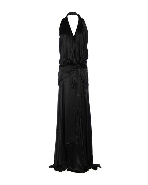 Faith Connexion   Black Long Dress   Lyst