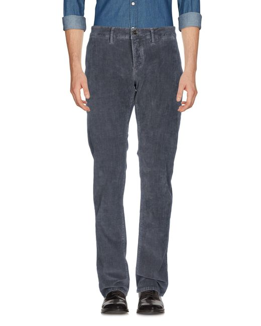 Siviglia - Gray Casual Trouser for Men - Lyst
