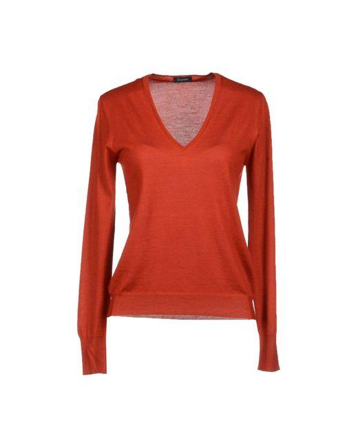 Cruciani - Red Sweater - Lyst
