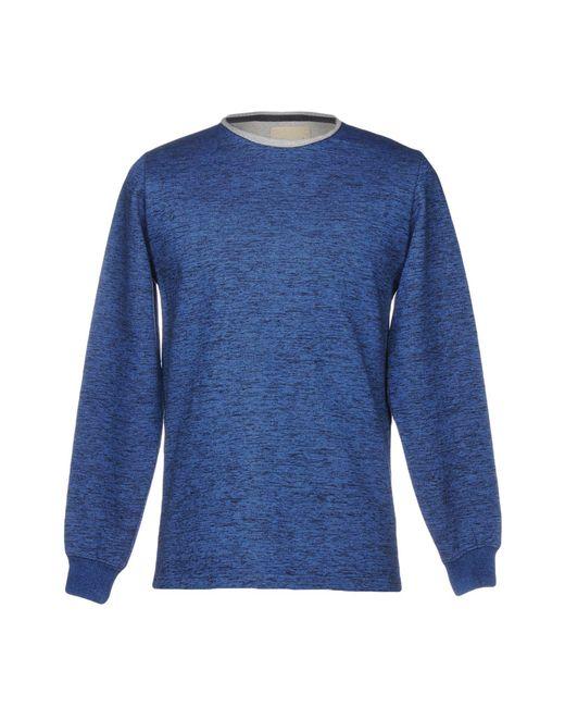 Rvlt - Blue Sweatshirts for Men - Lyst
