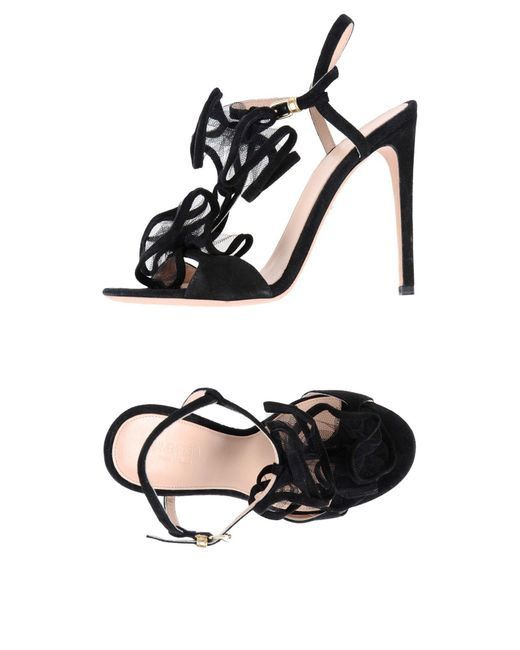 Giambattista Valli - Black Sandals - Lyst