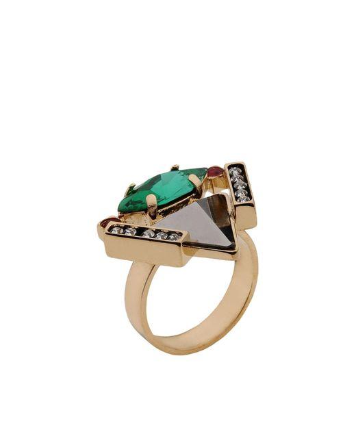 Iosselliani - Metallic Ring - Lyst