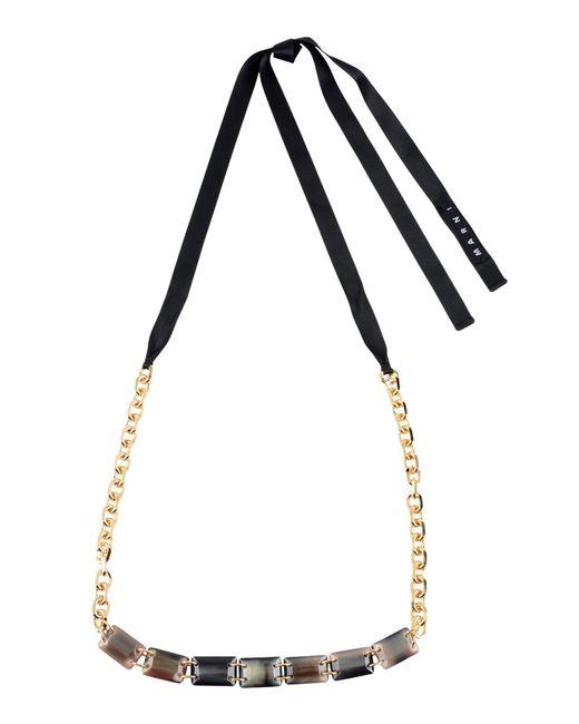 Marni - Purple Necklace - Lyst
