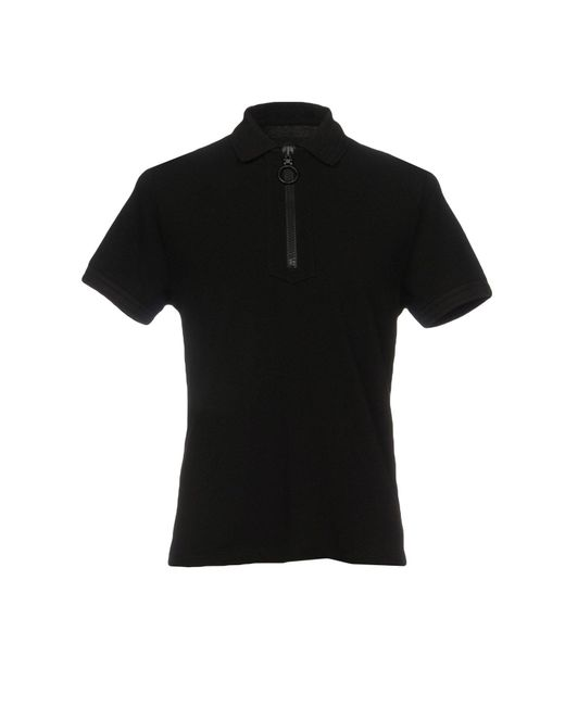 North Sails - Black Polo Shirt for Men - Lyst
