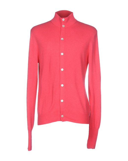 Ballantyne Pink Cardigan for men