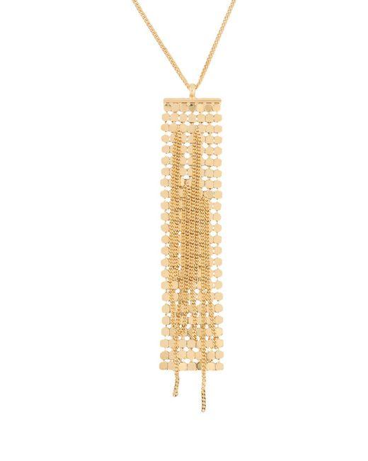 MM6 by Maison Martin Margiela - Metallic Necklaces - Lyst