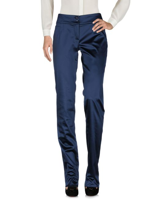 John Galliano | Blue Casual Trouser | Lyst