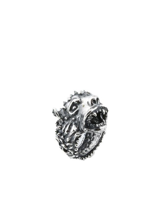 Emanuele Bicocchi - Metallic Rings for Men - Lyst