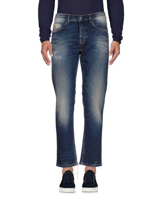 Pence - Blue Denim Trousers for Men - Lyst