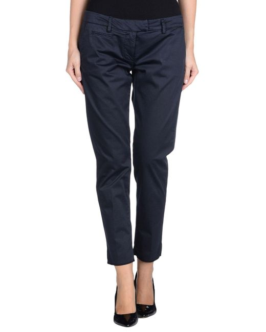 Dondup - Blue Casual Pants - Lyst