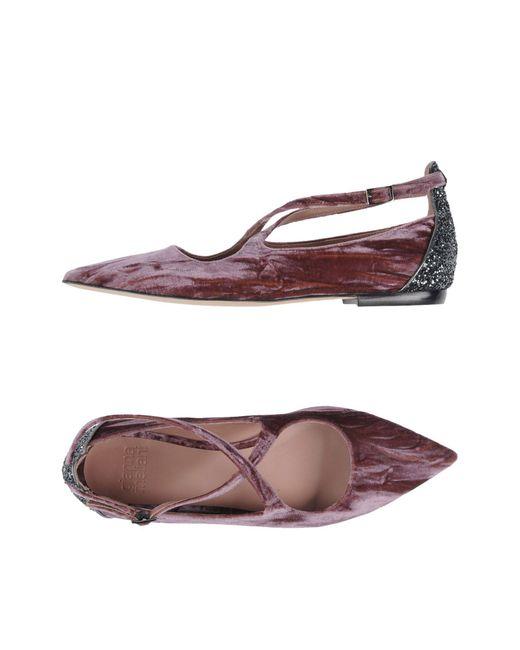 Gianna Meliani - Purple Ballet Flats - Lyst