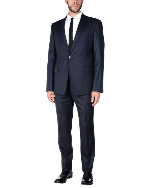 Emporio Armani | Blue Suit for Men | Lyst