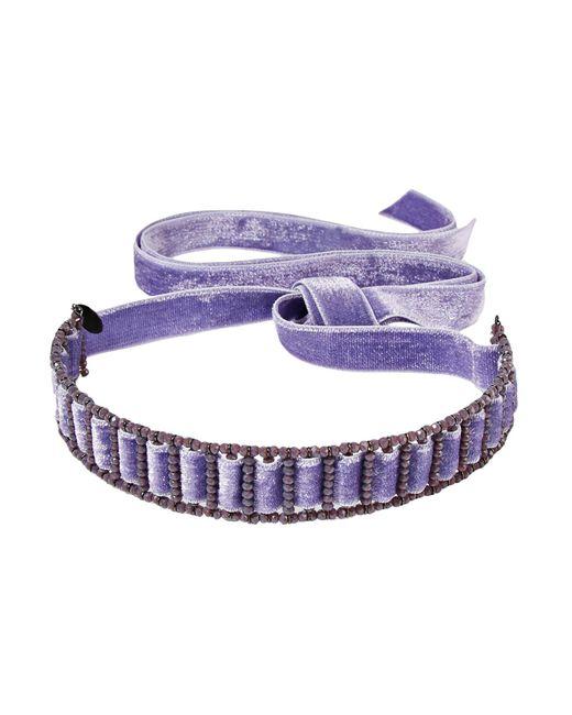Erickson Beamon - Purple Necklace - Lyst
