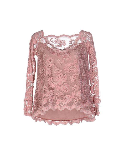 Balensi - Pink Blouse - Lyst
