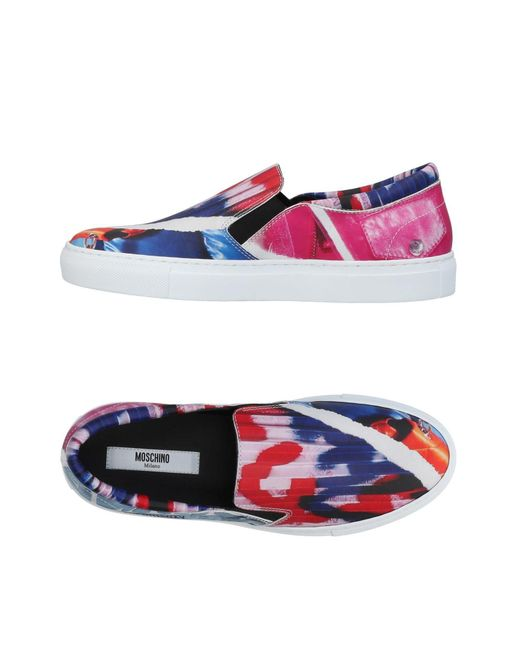 Moschino - Purple Low-tops & Sneakers - Lyst