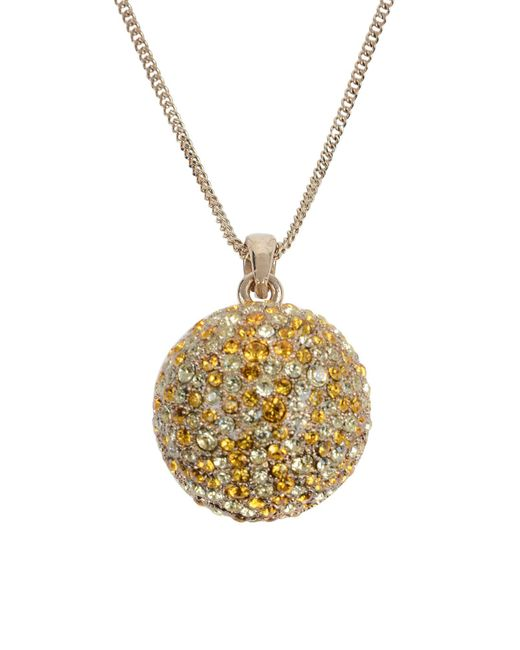 Roberto Cavalli - Yellow Necklace - Lyst