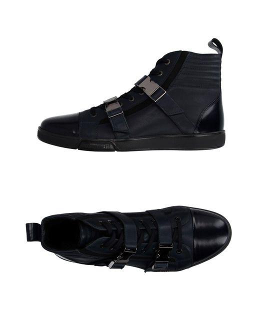 Dirk Bikkembergs - Black High-tops & Sneakers for Men - Lyst