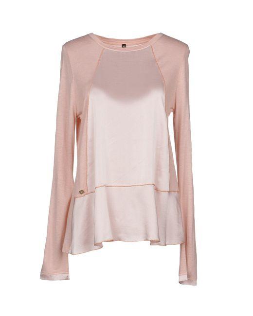 664be9fe42c93 Manila Grace - Pink T-shirt - Lyst ...