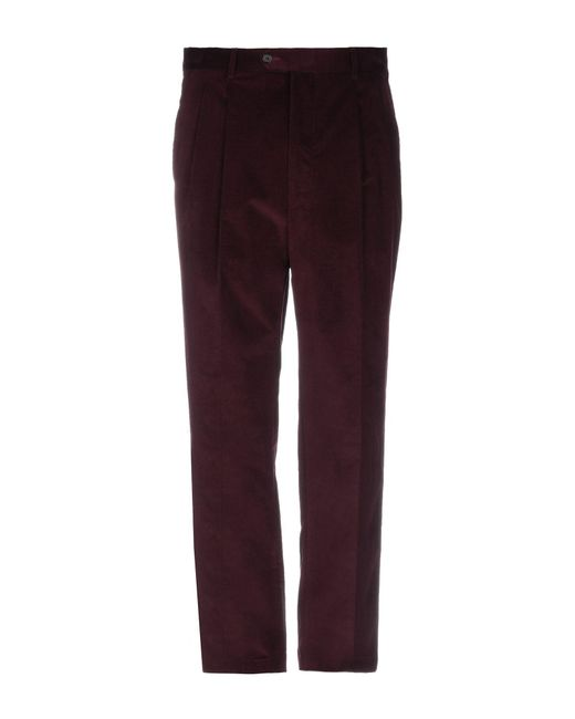 LC23 - Purple Casual Pants for Men - Lyst