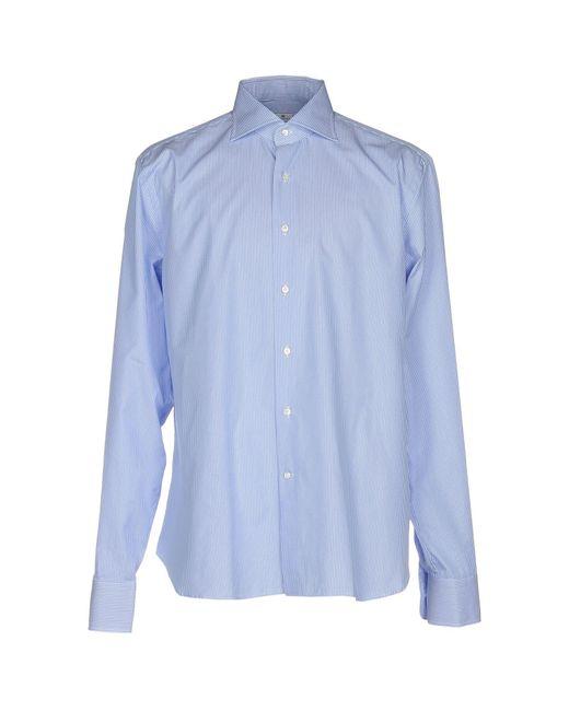 Sonrisa - Blue Shirt for Men - Lyst