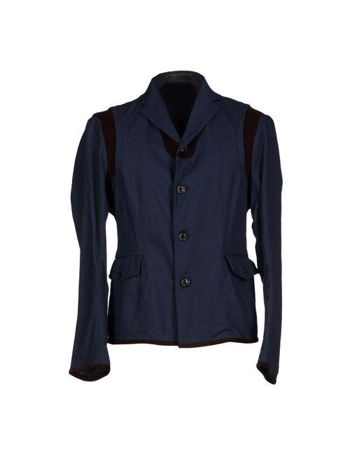 Kolor - Blue Blazer for Men - Lyst