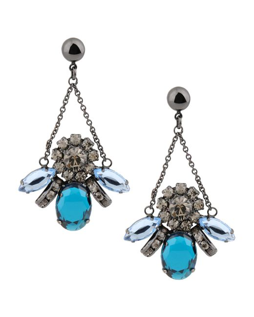 Emporio Armani | Blue Earrings | Lyst